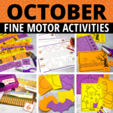 October Fine Motor Activities | Halloween Task Boxes for P