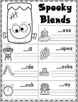 October First Grade Literacy: Halloween Activities for ...