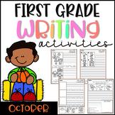 October First Grade Writing Activities