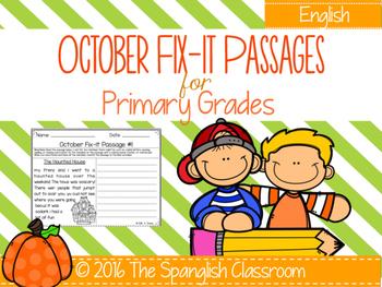 October Fix-It Passages