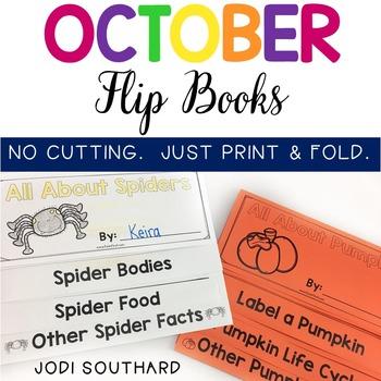 October Flip Books