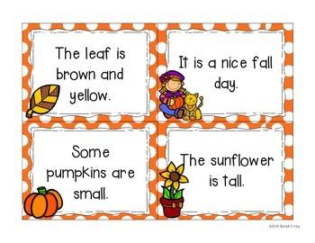 October Fluency Bags