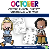 Fluency for October - Common Core Correlated