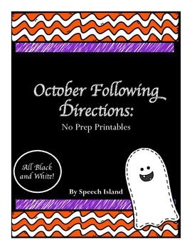 October Following Directions