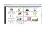 October Fourth Grade Homework Calendar Publisher Version