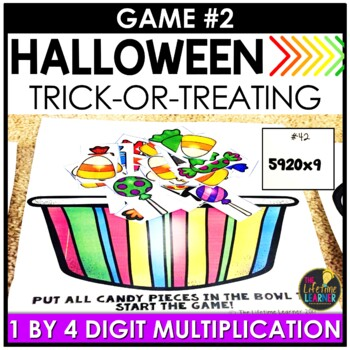 October Fourth Grade Math Centers BUNDLE