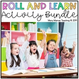 Distance Learning: Roll and Learn BUNDLE