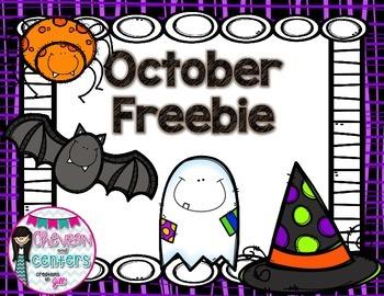 October Freebie