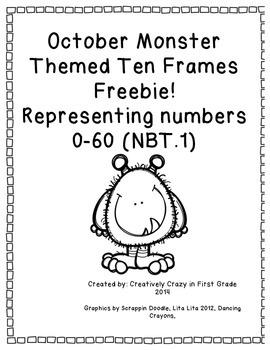 October Freebie NBT.1 Numbers 0-60
