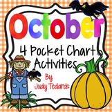 October Fun! (4 October Pocket Chart Activities)