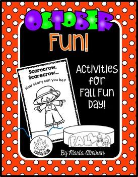 October Fun {Activities for Fall Fun Day}