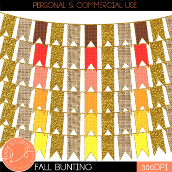 *October Fun* Fall Bunting Freebie
