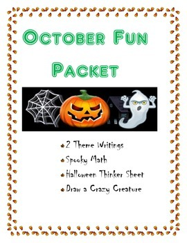 October Fun Packet