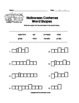October Fun Worksheet Pack