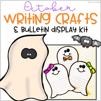 October Ghost Bulletin Board Writing Craft