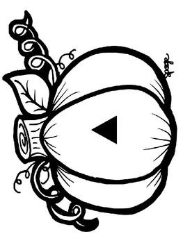 October Glyph - Jack o' Lantern