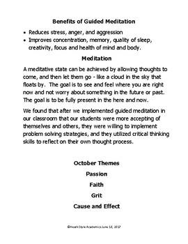 October Guided Meditation Bundle