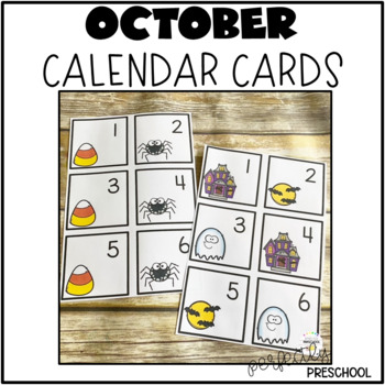 October (Halloween) Calendar Pieces