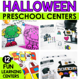 October Halloween Centers for Pre-K and K