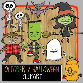 October / Halloween Clip Art