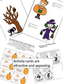 Halloween Interactive Bulletin Board Kit