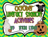 October Halloween Literacy Station Activities