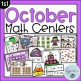 October Halloween Math Centers