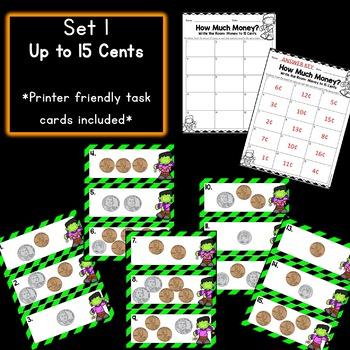 Halloween Math: Money Write the Rooms!