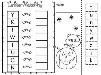 October Halloween No Prep just Print n Go