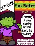 October - Halloween Packet