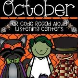 October/Halloween QR Code Read Aloud Listening Centers