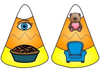 Kindergarten Halloween Literacy Centers- October Reading Stations