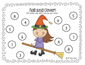 October {Halloween} Roll and Cover