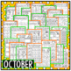 October Halloween Second Grade Math and Literacy NO PREP Common Core Aligned