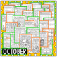 October Halloween Second Grade Math and Literacy NO PREP C