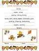 October Common Core Aligned English Language Arts Activity