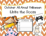 October Halloween Write the Room + 2 Bonus Activities