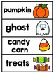 October / Halloween Write the Room Center and Word Wall Cards