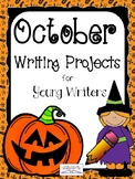October (Halloween) Writing Projects for Young Writers