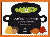 October & Halloween Writing Prompts
