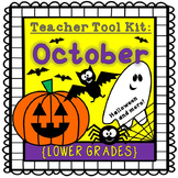 Halloween activities {lower grades}