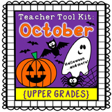 Halloween activities {upper grades}