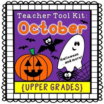 Halloween activities {upper grades}