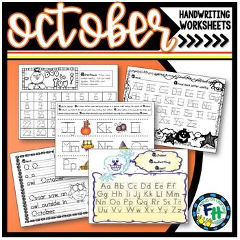 Handwriting Fun (October)