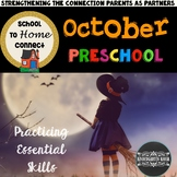 October Homework Packet: Preschool