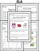 October Homework or School Activities-Kindergarten & First Grade [Common Core]