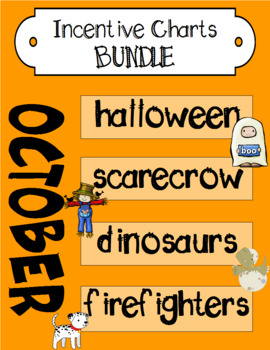 October Incentive Chart BUNDLE