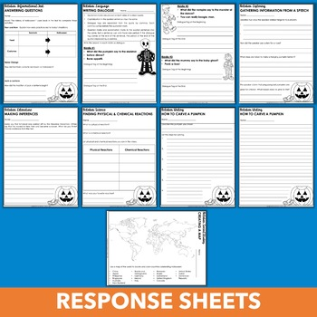 Halloween Chromebook Activities - October Independent Learning Module (ILM)