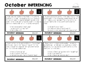 October Inferencing
