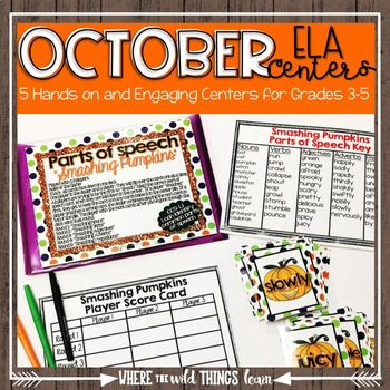 October Interactive {ELA Centers}